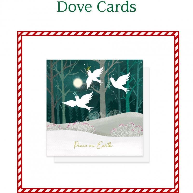Dove Christmas Card