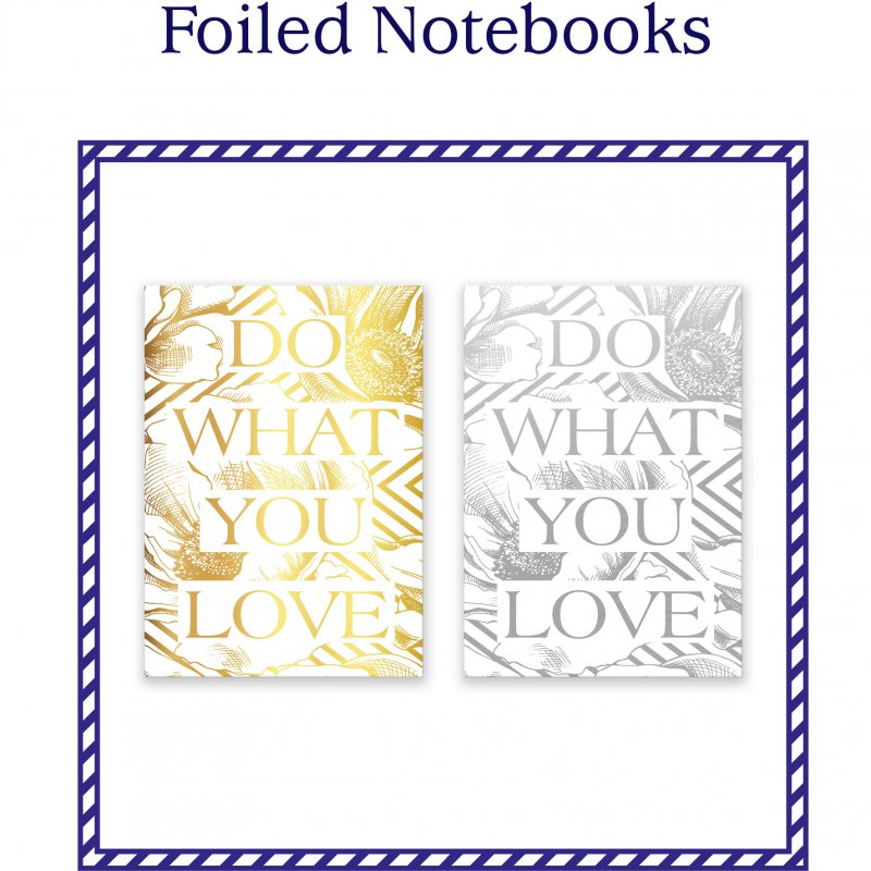 Foiled Notebooks