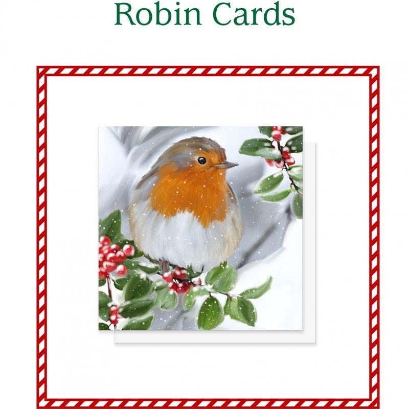 Robin Christmas Cards